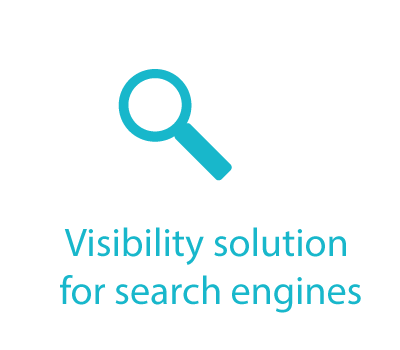 Visibility solution for search engines