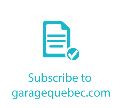 Subscribe to garage quebec