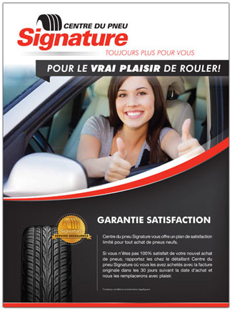 garantie satisfaction pneus vente assomption